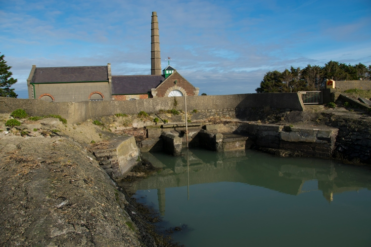 pumping station, north slob, wexford